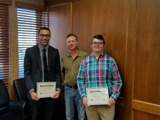 Port Neches Chamber Coffee & Student of the Month